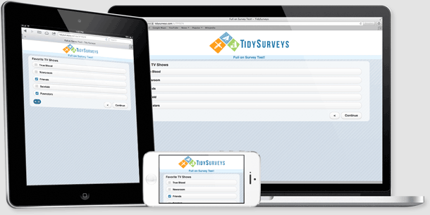 Mobile Surveys by TidySurveys